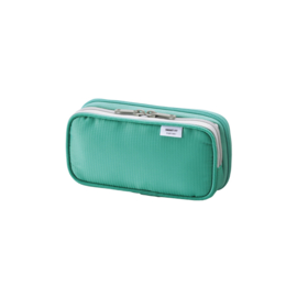 LIHIT LAB Smart Fit Double Pen Case Small - Green