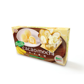 Cacao Mochi Banaan 80g