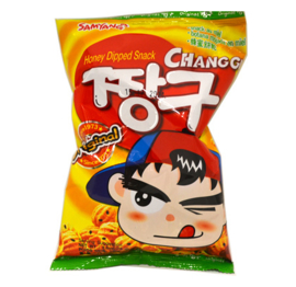 Sweet Honey Chang Gu Chips 115g