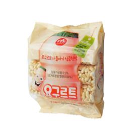 Mammos Rice Crackers - joghurt 20x70g bag