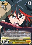 Fight Club Member, Ryuko KLK/S27-E007 Rare