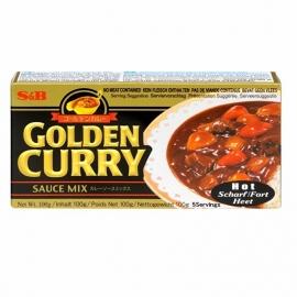 GOLDEN CURRY HOT 240G S&B