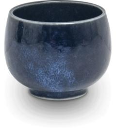 Sake cup Hana blue  Ø4,3 cm | H3,7 cm