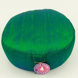Meditation pillow rough green 33x17 cm