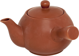 Teapot 1000ml Japanese style clay color