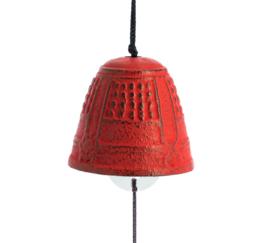 Iwachu Furin Feng Shui Bell Red 4,5 cm