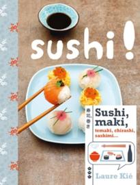 Sushi, maki temaki, chiraski, sashimi