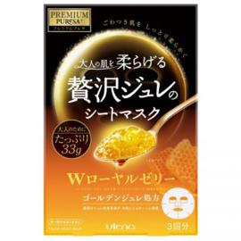 Premium Puresa Golden Jelly Mask Royal Jelly 33g, 3 Masks