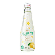 Ozeki Hana Fuga Yuzu Sparkling Sake 5% 250ml