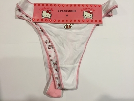 Hello Kitty String Wit Roze S