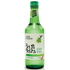 Chum Churum Soju Green Grape 12% 350ml