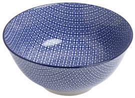 Niji blue Ø18 cm | H8,5 cm