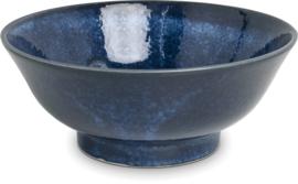 Izayoi Blauw en wit kom Ø21,2 cm | H8,5 cm