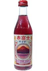 Kimura Drink Mt Fuji Red Soda Pop 240ml
