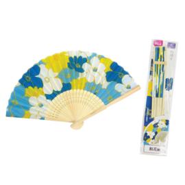 Waaier Japanese flower  21cm
