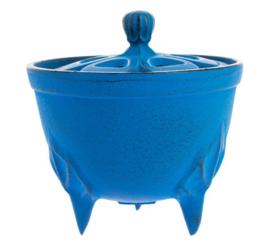 Incense burner Iwachu Bowl Blue Ø8.3xH8.1 cm