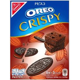 Oreo Crispy Cookies - Brounie  Chocolate 154g