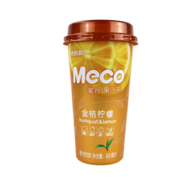 Meco Fruit Tea - Kumquat & Lemon Flavour 400ml