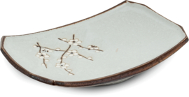 Sushibord Hana lichtgroen 22x15 cm | H3,5 cm