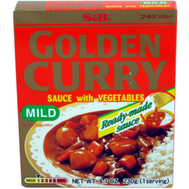 S&B Golden Vegetable Curry Mild 230G