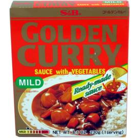 S&B Golden Vegetable Curry Medium Hot 230G