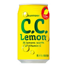 SUNTORY C.C. Lemon 350ml