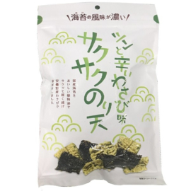 Maruka Foods Tsun and Wasabi Crispy Nori Ten 70g