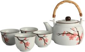 Tea Set Sakura 5 pieces