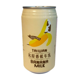 FH Banana Milk Drink 340ml TIN