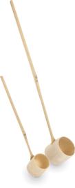 Matcha Lepel Bamboo 35 cm, Ø5,5 cm | 20 cm, Ø4 cm