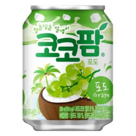 Korean grape juice with coconut jelly 238ml