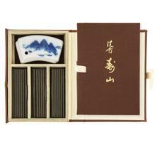 Jinkoh Juzan Agar Aloes wooden Box 8g (60 stokjes)