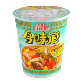 Nissin Cup Noodle Spicy Seafood