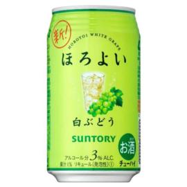 Suntory HOROYOI White Grape Chuhai 350ml 3%