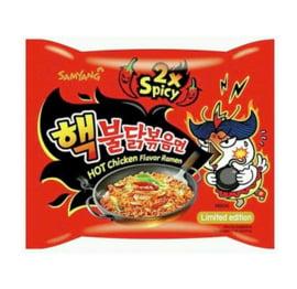 Nouilles coréen extrêment piquantes 2X Nuclear Fire Noodles 140g