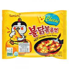 Korean Samyang Cheese Hot Chicken Ramen 140g