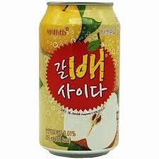 Korean Krushed Pear soda 355 ml