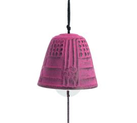 Iwachu Furin Feng Shui Bell Pink 4,5 cm