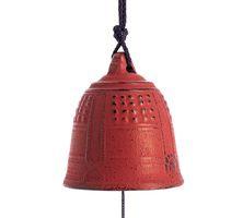 Iwachu Furin Feng Shui Bell Red 5,5 cm