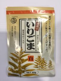 Premium Japanse Sesam Kuki Irigoma Shiro 65g white