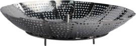 Steam basket RVS 14-23 cm H3cm