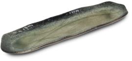 Sushischaal Groen  33,5 cm x 8,5 cm