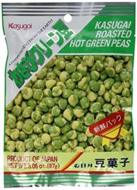 Kasugai Wasabi Flavored Green Peas 87g