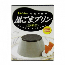 Pudding Black Sesam Kuro Goma