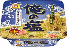 Toyo Suisan  Maruchan Ore No Shio Yakisoba Cup Noodles 122g