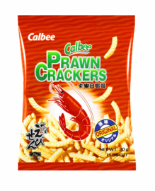 Garnalen Chips Calbee 105g