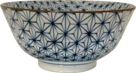 Japanese bowl stars pattern Ø15,5 x H7,8 cm