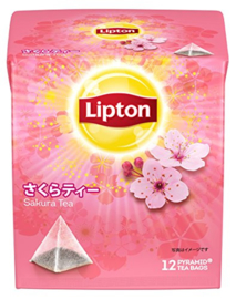Lipton Sakura Tea Pyramid Bag 12bags