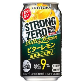 -196℃ STRONG ZERO Double Bitter Lemon  9% 350ml