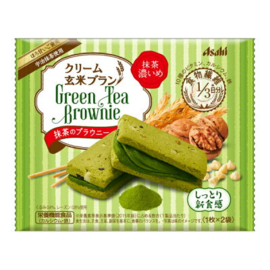 Green Tea Cream Brown Rice Bran Matcha Brownie